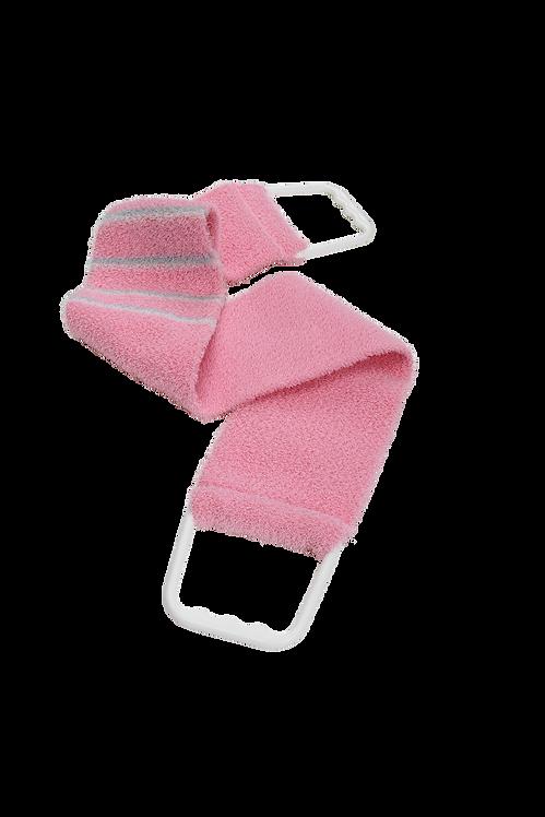 Bass 1143 Pretty Pink |  Premium Nylon Body Exfoliating Strap