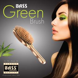 Green Brush Dark Tile