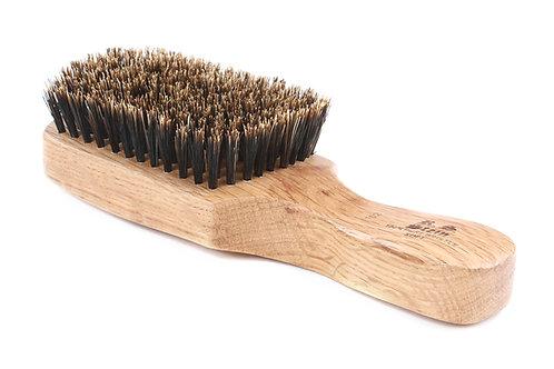 R.S. Stein 102 Oak Wood | Classic Club Hairbrush with Soft Natural Bristles