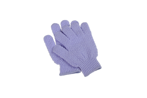 Bass S58 Lilac  |  Premium Nylon Body Exfoliating Gloves