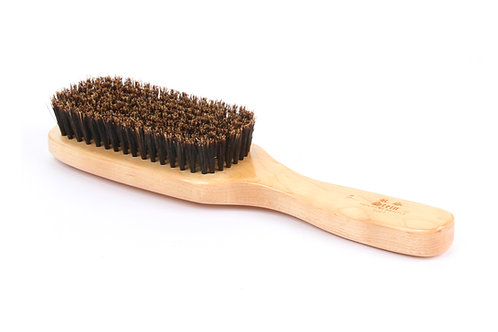 R.S. Stein 106 Maple Wood | 9 Row Hairbrush with Soft Natural Bristles