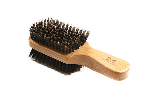 R.S. Stein 113 Oak Wood | 2-Sided Club Hairbrush with Firm and Soft Bristles