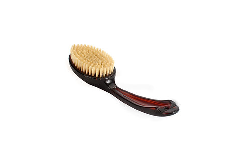 Bass 75 Tortoise Shell  |  Oval Style Body Brush with Natural Bristles