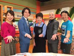 北陸朝日放送「2時どき」〜クマムシさんと一緒