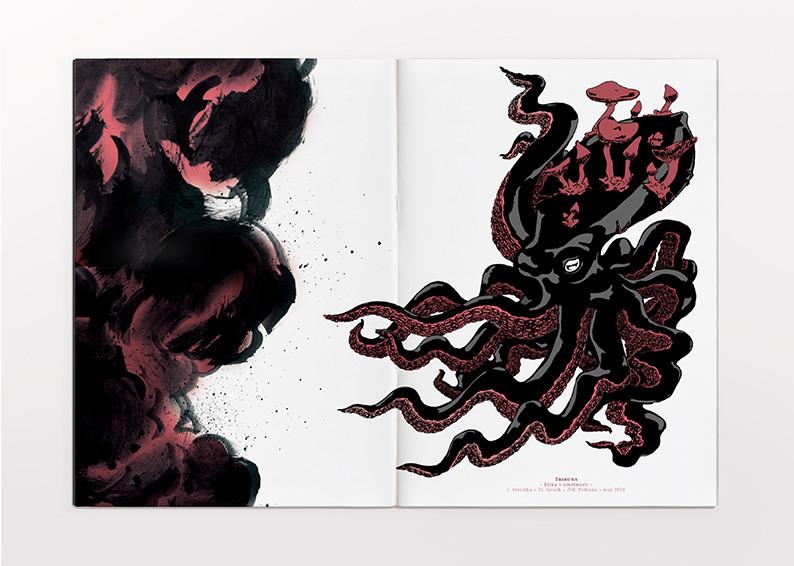 Parasite cover illustration