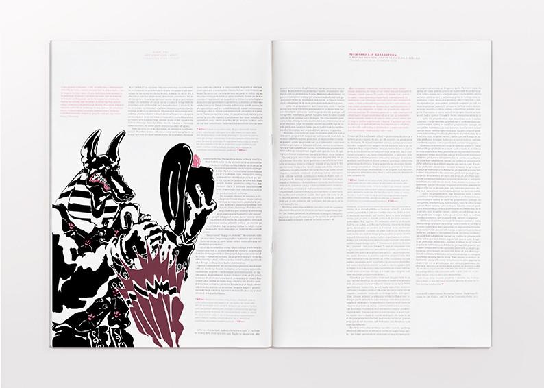 Slovenian jackal editorial illustration