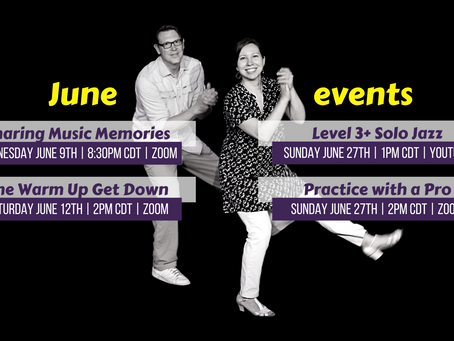 June live events for members!