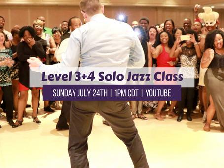 Level 3+4 Live Class 7/24/21 1pm CDT
