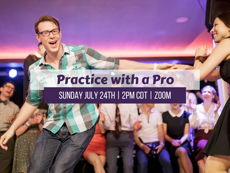 Practice with a Pro 7/24/21 2pm CDT