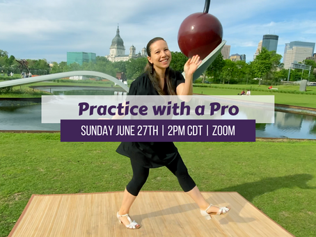 Practice with a Pro 6/27/21 2pm CDT
