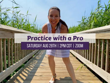 Practice with a Pro Saturday 8/28/21
