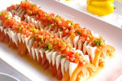 토마토 두부 샐러드