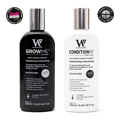 Watermans Grow Me Shampoo & Condition Me Conditioner Set