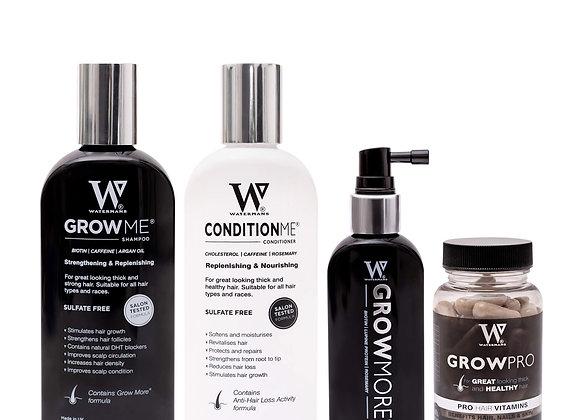 Watermans Shampoo, Conditioner, Elixir & Vitamins Bundle