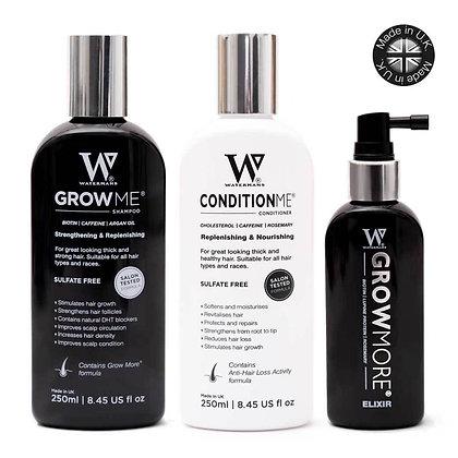 Watermans Shampoo, Conditioner & Elixir Bundle