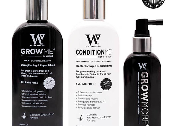 Watermans Shampoo, Conditioner & Elixir Bundle
