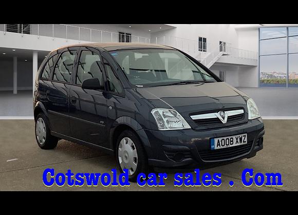 2008 Vauxhall meriva 1.4 16v life
