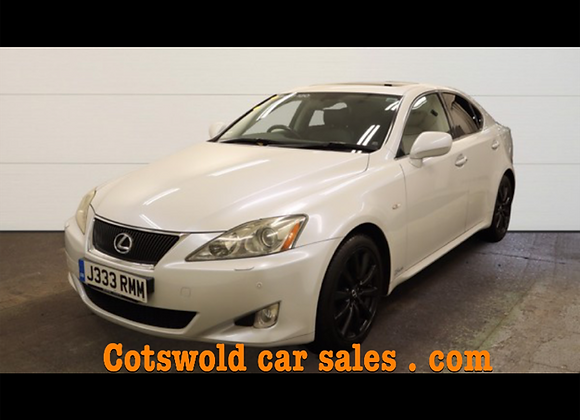 07 LEXUS is 250 se-l