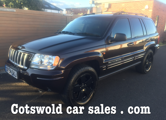 2005-54 Jeep Grand Cherokee 4.0 petrol 40 mpg automatic 6 speed