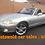 Thumbnail: Mazda mx 5 svt sport six speed 1.8 150 bhp