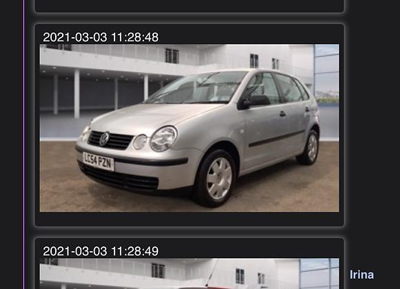 05-54 VW POLO TWIST 1.4 5 DR