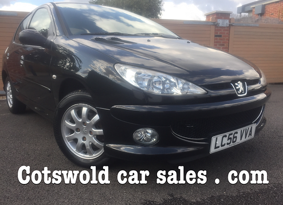 2007-56 Peugeot 206 s look 1.4 hdi 78mpg £30 years tax