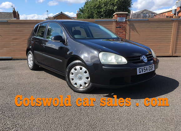 05-54 Vw golf 1.4 FSI 5 door