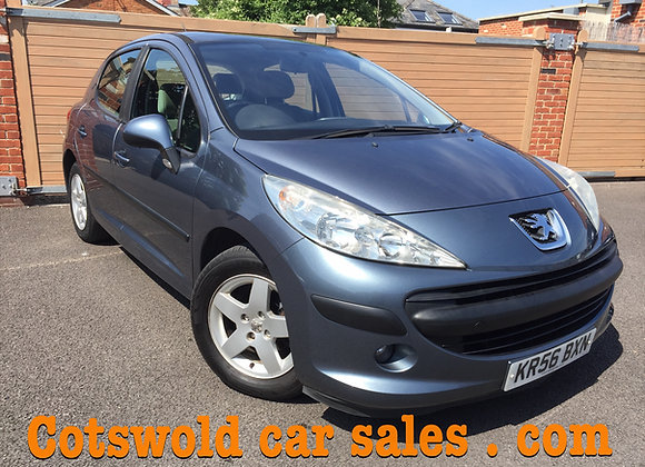 2007 Peugeot 207 se FULL GLASS PANORAMIC ROOF !!1400cc 16v