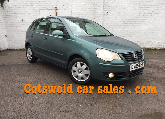 55 plate VW POLO S 55 sparkling 5 DOOR!!