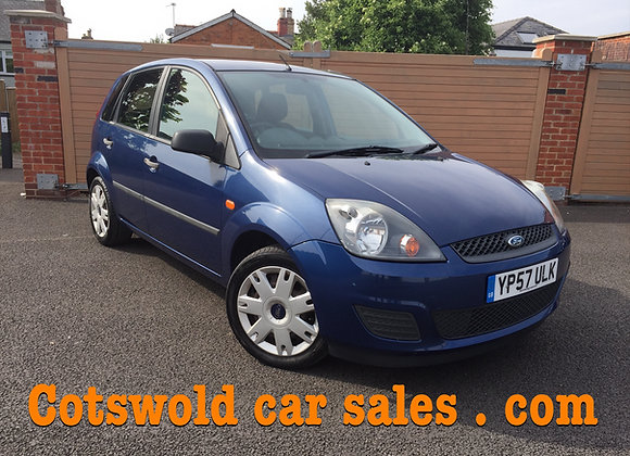 2008 Ford Fiesta 1.2 climate ! 5 door immaculate full service history !!!!
