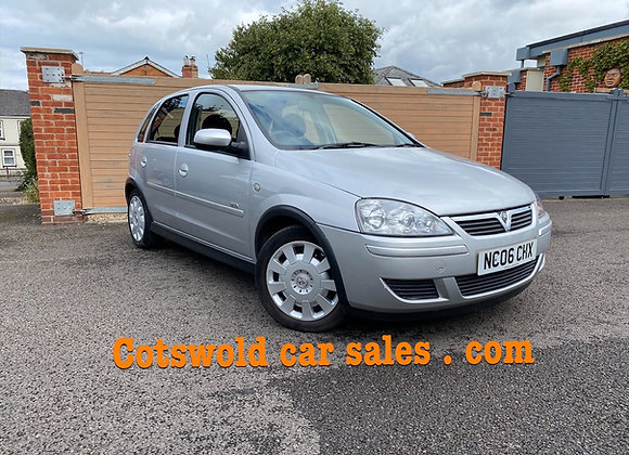2006 Vauxhall's corsa 1.2 twin port 5 dr