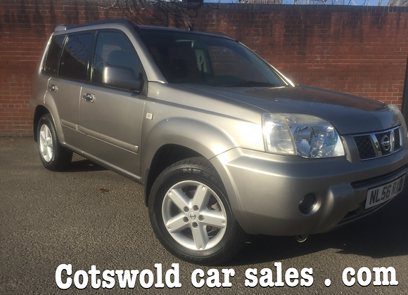 2007-56 Nissan xtrail 2.2 Columbia dci 2.2 6 speed