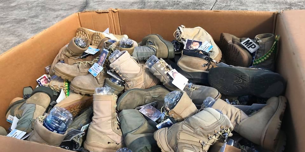 Boot Memorial Packup and Cleanup