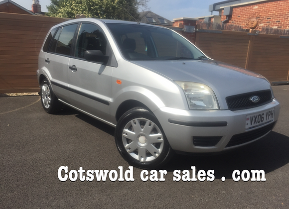 2006 FORD FIESTA FUSION 2 16V 1.4  5 door