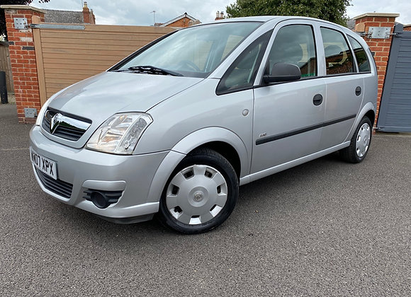 Vauxhall meriva twin port 1.4 life