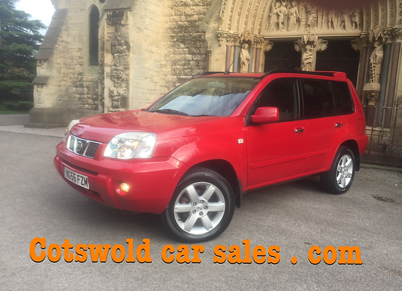 2007-56 Nissan x trail Columbia 2.2 dci  Manual 6 speed
