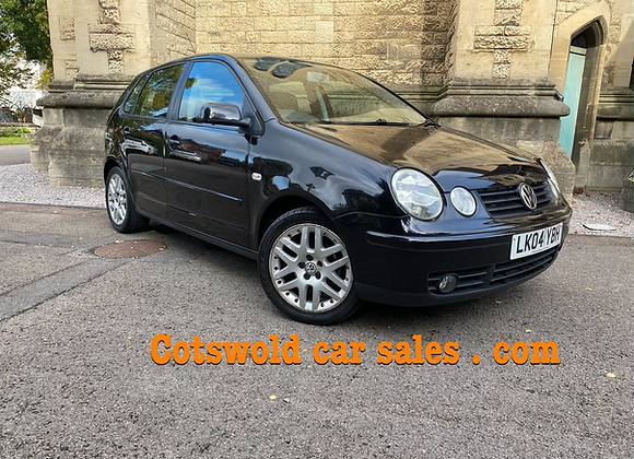 04 VW POLO 1.4 sport 5 door