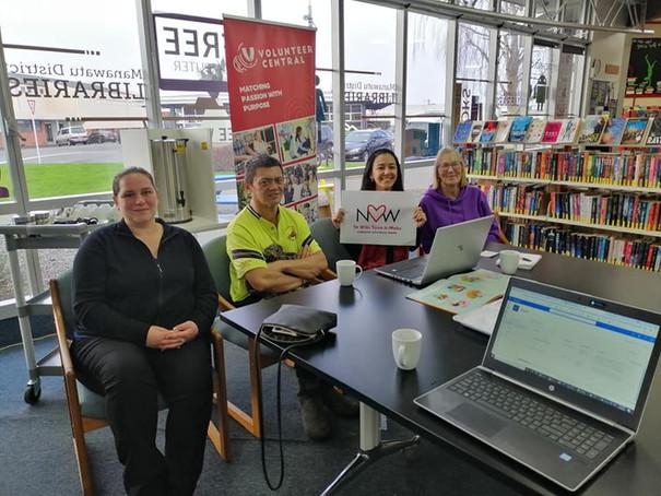 National Volunteer Week 2021 Cuppa&Chat Feilding
