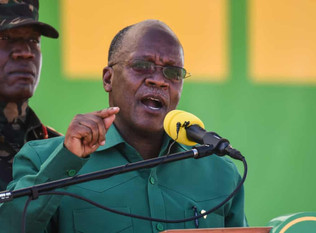 Tanzanian president accused of repression on eve of election