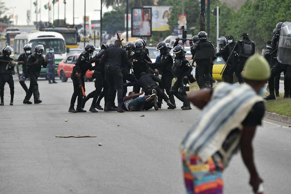 Street clashes between protestors and security forces last week have heightened the tense atmosphere. (Sia Kambou/AFP/Getty Images)
