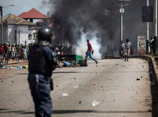 Guinea's president wins third term amid widespread protests