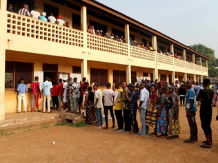Central African Republic votes amid fears of unrest