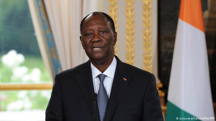 Incumbent President Alassane Ouattara (picture-alliance/MAXPPP)