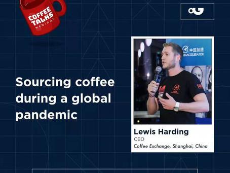 """Webinar: Coffee Talks: """"Sourcing Coffee During Global Pandemic"""" by PDG"""