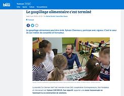 210610 Un Demain Vert Podcast Le gaspillage alimentaire c'est terminé France Bleu Occitanie.PNG