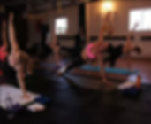 Rah Evolution Group Yoga Class