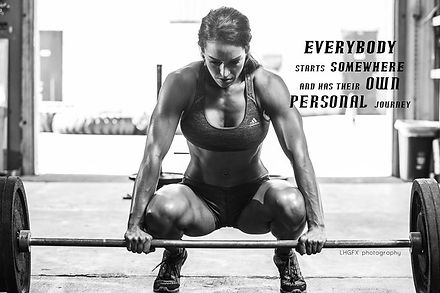 Rah Evolution Personal Transformation Weight Lifting Quote