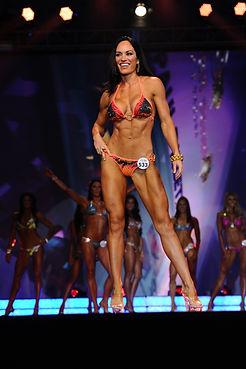 Rah Evolution Fitness Competitor Posing