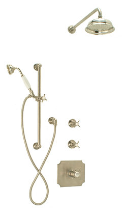 CS2 - Concealed Thermostatic Shower cw Hand Shower