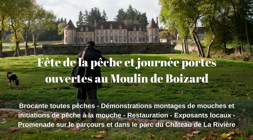 Fête de la pêche et journée portes ouvertes au Moulin de Boizard